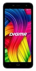 Смартфон Digma Base 4G Linx 8Gb 1Gb серый моноблок 3G 4G 2Sim 5.34""