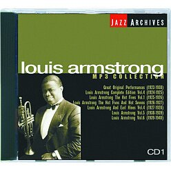 "Компакт-диск ""Louis Armstrong collection MP3"" Диск 1  CD"